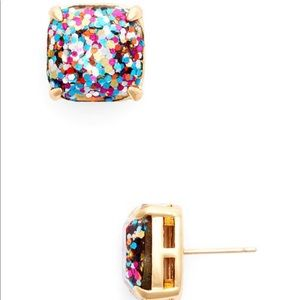 Kate Spade Glitter Gumdrop Earrings